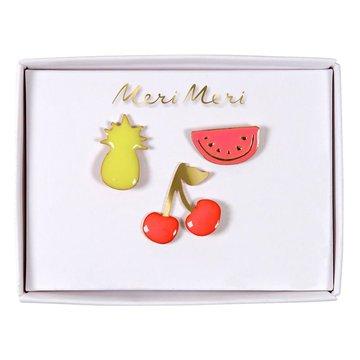 Meri Meri - Przypinki Owoce