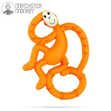 Matchstick Monkey - Matchstick Mini Monkey Orange Gryzak Masujący