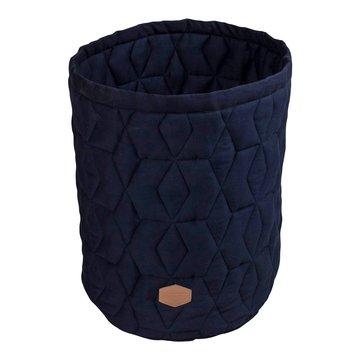 Filibabba Pojemnik materiałowy na zabawki 43 x 35 x 35 cm Dark Blue FILIBABBA