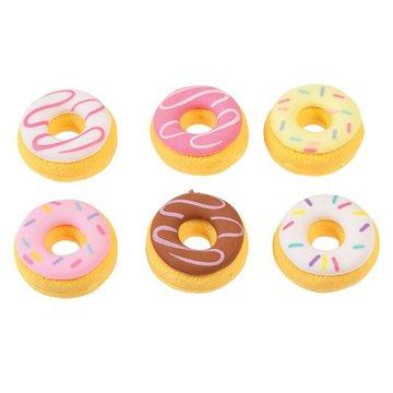 Gumki do zmazywania 6 szt., Donut, Rex London