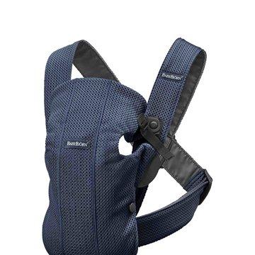 BABYBJORN MINI 3D Mesh – nosidełko, Ciemny Niebieski
