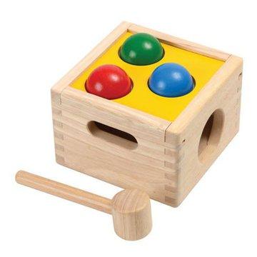 Drewniana skrzynia z kulkami, Plan Toys®