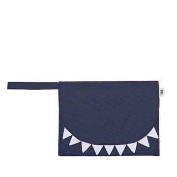 Baby Bites Przewijak podróżny Shark Navy Blue BABY BITES
