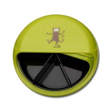 Carl Oscar Rotable SnackDISC™ 5 komorowy obrotowy pojemnik na przekąski Lime - Monkey CARL OSCAR