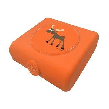 Carl Oscar Kids Sandwich Box Pojemnik na przekąski i kanapki Orange - Moose CARL OSCAR