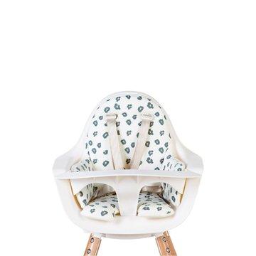 CHILDHOME - Dwustronny ochraniacz do krzesełka Evolu 2 Jersey Leopard