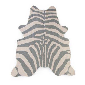CHILDHOME - Dywan Zebra 145x160 grey