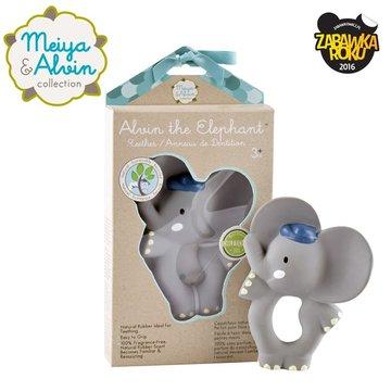Meiya and Alvin - Meiya & Alvin - Alvin Elephant Organic Rubber Teether