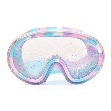 Maska do pływania błękitnym brokatem i gwiazdkami, Bling2O Bling2o