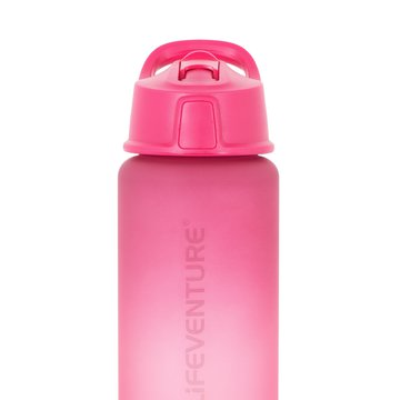 Bidon Flip-Top Lifeventure 750 ml - Pink