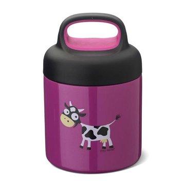 Carl Oscar TEMP Lunch Jar - Termos ze szlachetnej stali nierdzewnej Purple - Cow CARL OSCAR