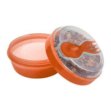 Carl Oscar- N'ice Cup™ Pojemnik śniadaniowy z wkładem chłodzący Orange - Moose CARL OSCAR