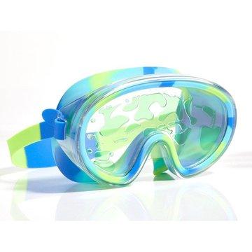 Maska do pływania, Lawa, limonkowa, Bling2O Bling2o