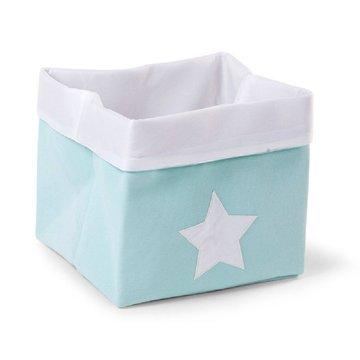 CHILDHOME - Pudełko płócienne 32 x 32 x 29 cm Mint