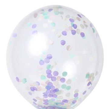 Meri Meri - Zestaw balonów Konfetti pastelowe