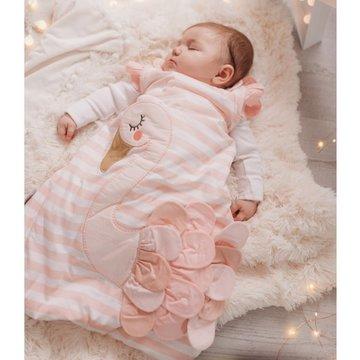 Bizzi Growin Śpiworek niemowlęcy do spania Łabądź 2.5 TOG rozmiar 6-18 m