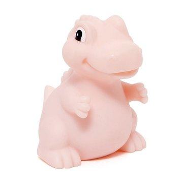 Petit Monkey - Miękka pastelowa lampka nocna LED T-rex różowy