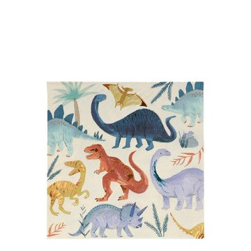 Meri Meri - Duże serwetki Królestwo dinozaurów