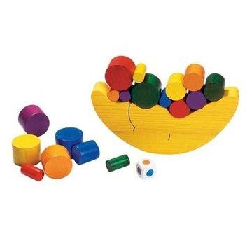 Goki® - Drewniana gra Balansujący księżyc, edukacyjna zabawa, Goki HS 540