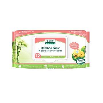 Aleva Naturals - Aleva Promocja - Aleva Bambusowe Chusteczki Sensitive 72szt