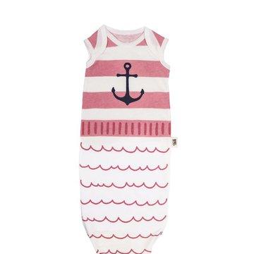 Baby Bites Śpioszki Baby Gown Sailor (0-3 miesięcy) Pink BABY BITES