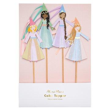 Meri Meri - Topper na tort Magiczne księżniczki