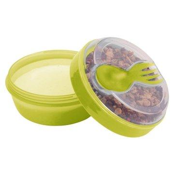 Carl Oscar- N'ice Cup™ Pojemnik śniadaniowy z wkładem chłodzący Lime - Monkey CARL OSCAR