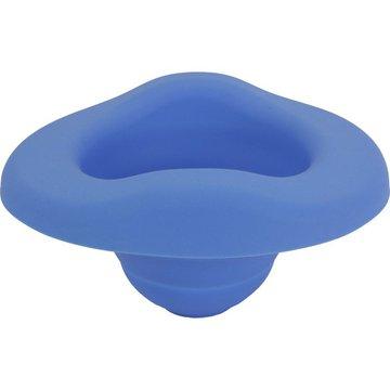 Wkład silikonowy składany na nocnik, niebieski, Potette Plus