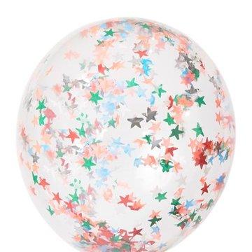 Meri Meri - Zestaw balonów Konfetti gwiazdki koloro e