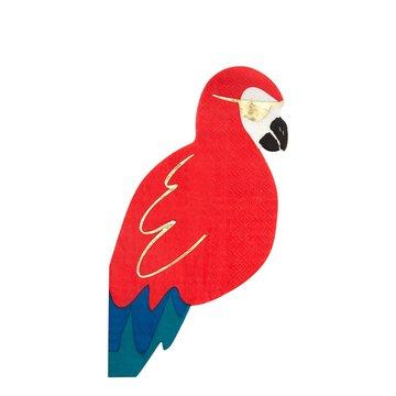 Meri Meri - Serwetki Papuga Piraci