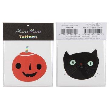 Meri Meri - Tatuaże Kot i dynia