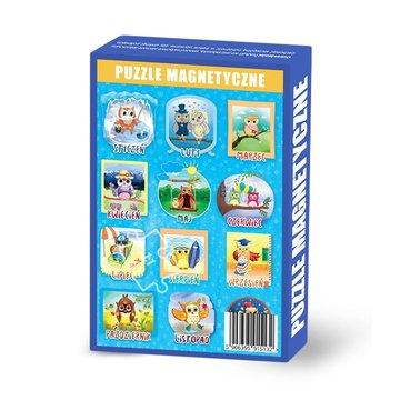 Maka Kids - Puzzle Magnetyczne Miesiące