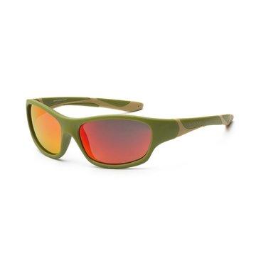 KOOLSUN Okulary SPORT Army Green 6-12 lat Koolsun