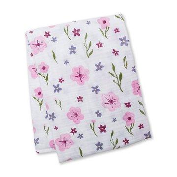 Lulujo Kocyk Muślinowy Lovely Floral