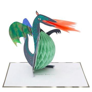 Meri Meri - Kartka okolicznościowa 3D Dinozaur