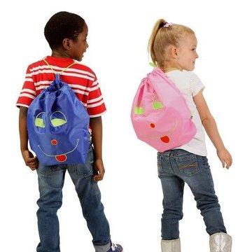 Worek-Plecak Przedszkolaka, różowy, Potette Plus