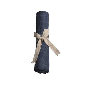 Filibabba Pieluszka muślinowa 65 x 65 cm Dark Blue FILIBABBA