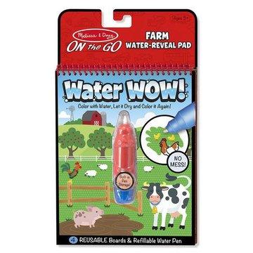 Melissa&Doug® - Melissa, Wodna Kolorowanka Water Wow! Farma