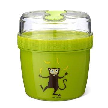 Carl Oscar- N'ice Cup™ L Pojemnik śniadaniowy z wkładem chłodzący Lime - Monkey CARL OSCAR