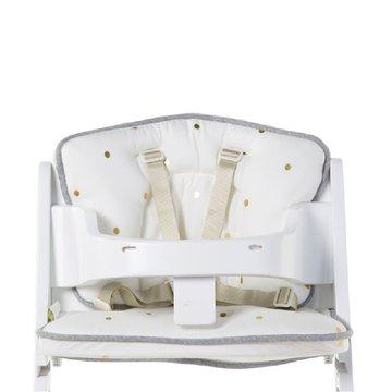 CHILDHOME - Ochraniacz do krzesełka Lambda Jersey Gold Dots