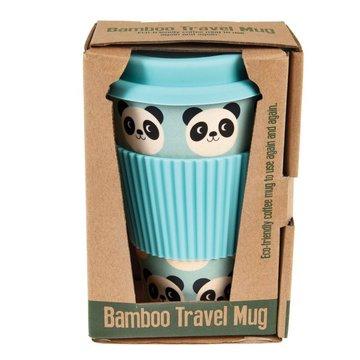Kubek bambusowy podróżny 400 ml, Panda Miko, Rex London