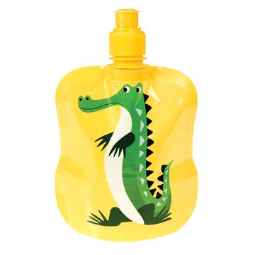 Bidon zwijalny na wodę 200 ml, Krokodyl Harry, Rex London