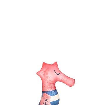 Baby Bites Poduszka do karmienia Sea Horse 55 x 35 cm Pink BABY BITES