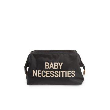 CHILDHOME - Kosmetyczka Baby Necessities Czarno-Złota