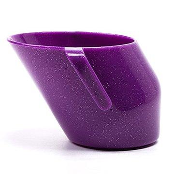Bickiepegs - Kubeczek Doidy Cup - fiołkowy z brokatem