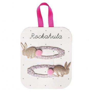 Rockahula Kids - spinki do włosów Rabbit Gold