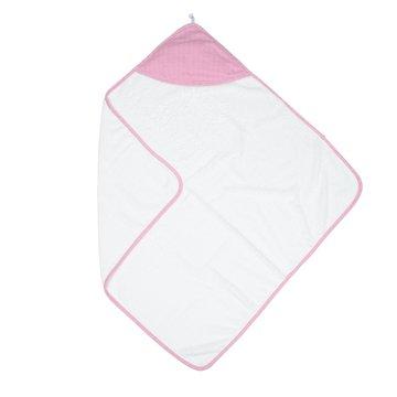 Juddlies Bambusowy Ręcznik z Kapturem Pink