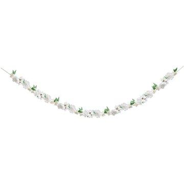 Meri Meri - Girlanda Bukiet kwiatów Biały