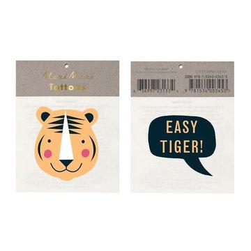 Meri Meri - Tatuaże Tygrys