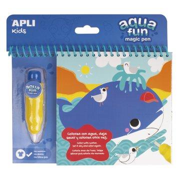 Kolorowanka wodna Apli Kids - Morze